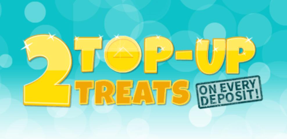 2 top-up treats bingo