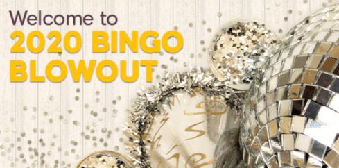 2020 bingo blowout