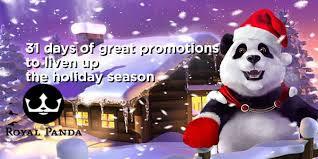 royal panda Christmas 2019