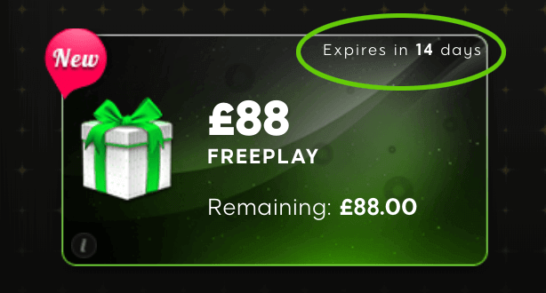 88 free play bonus at 888 casino