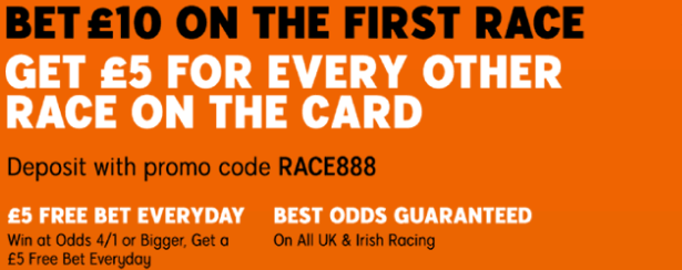 horse racing 888 promotion