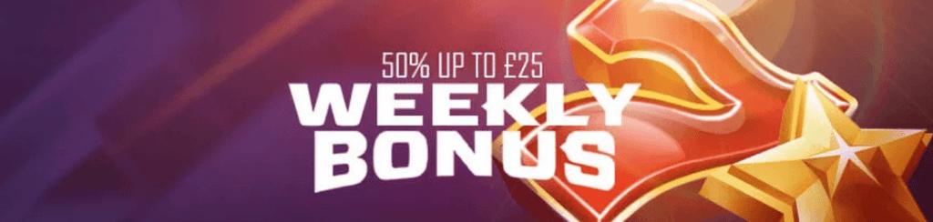 weekly bonus