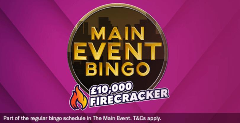 main event bingo