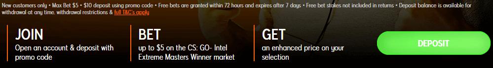 cs go intel expreme masters 888 promotion banner