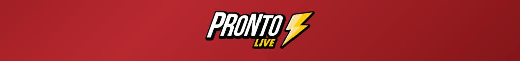 pronto live casino logo