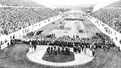 1896 Olympic opening ceremony
