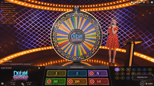 dream catcher live casino online