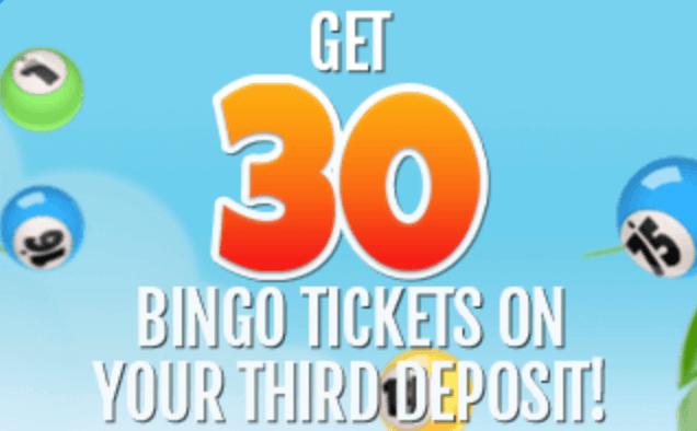 30 bingo tickets