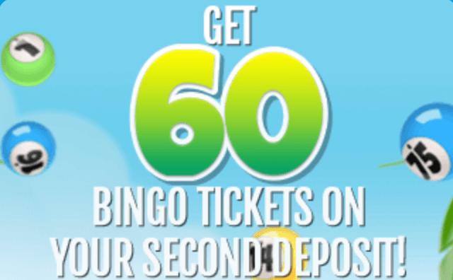 60 bingo tickets costabingo