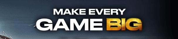 bwin uk make every game BIG banner
