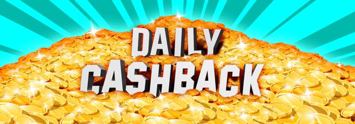 daily cashback banner