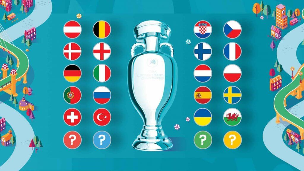 2020 UEFA european championship teams qualified