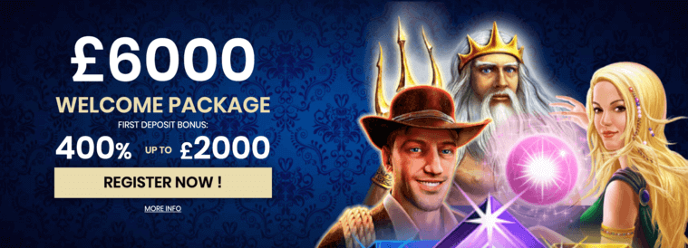 4 crowns casino welcome bonus