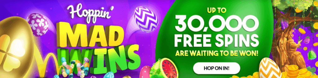 Up To 30,000 Free Spins Up For Grabs at mFortune Casino