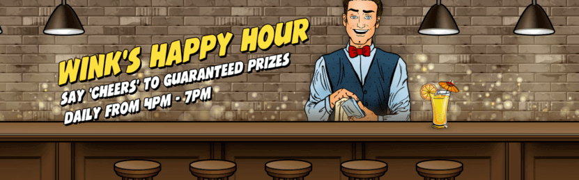 wink's happy hour