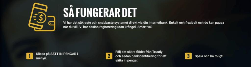 Snabba registreringar via Pay and Play