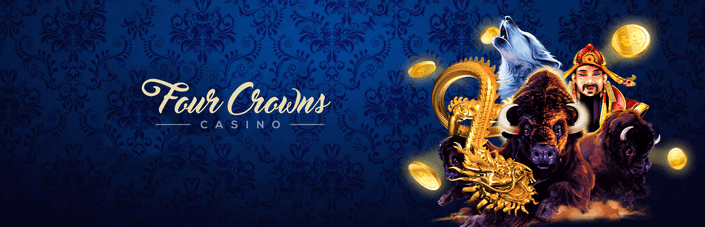 four crown casino banner