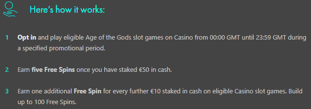 free spins buildrs bet365 how it works