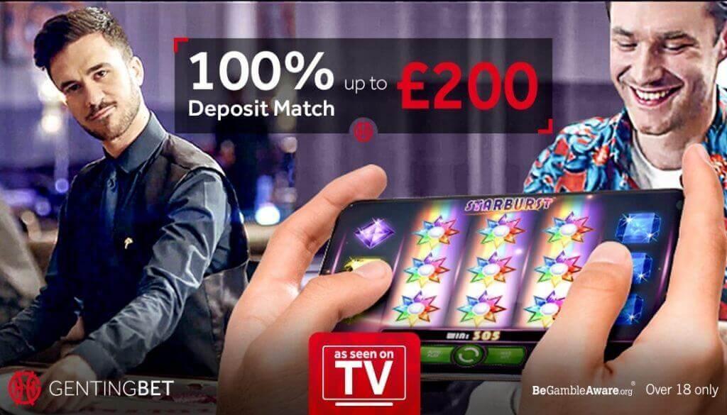 genting casino welcome bonus