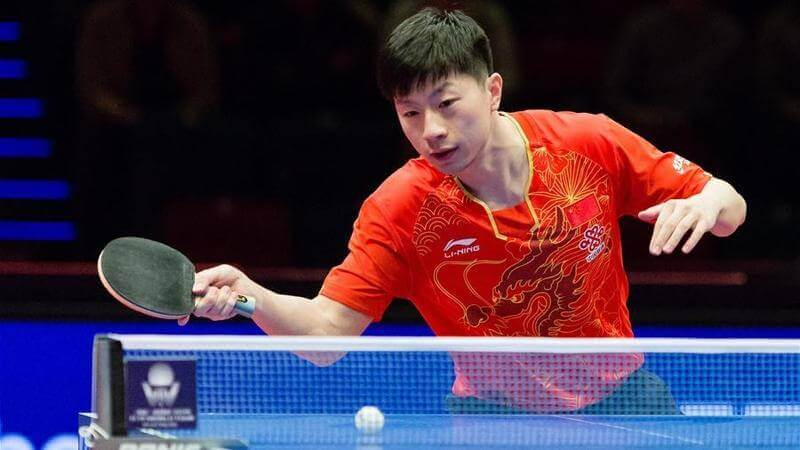 ma long table tennis player