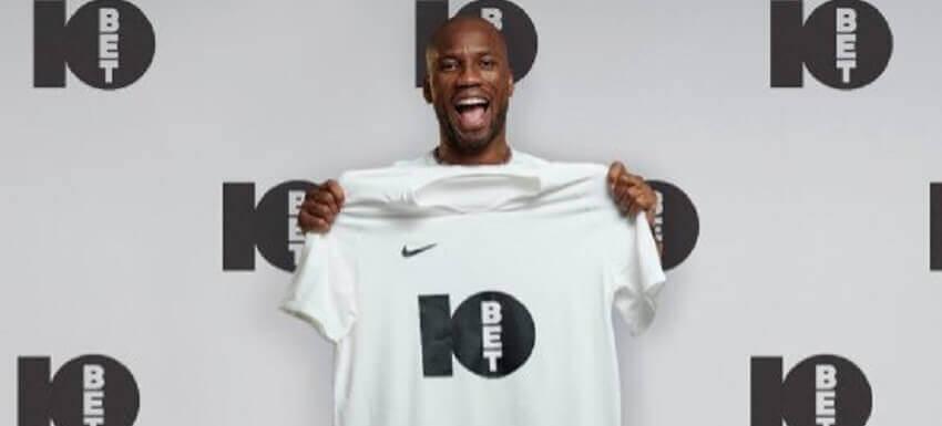 Didier drogba 10bet ambassador