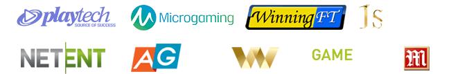 casino software prodivers