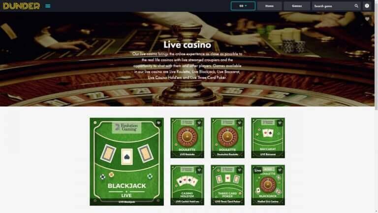 dunder-live-casino-