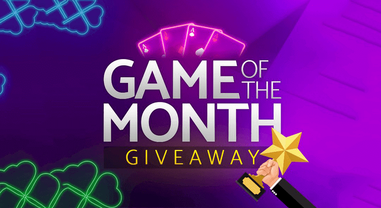 game of the month giveaway