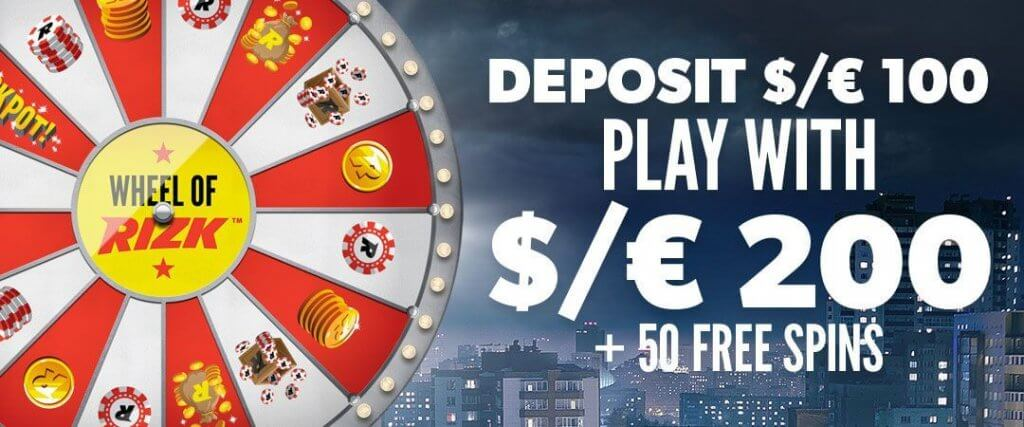 rizk casino nz bonus