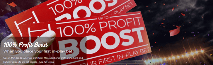 32bet profit boost