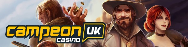 campeon uk casino banner with logo