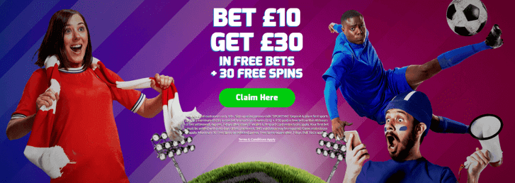 betfred sports fans banner