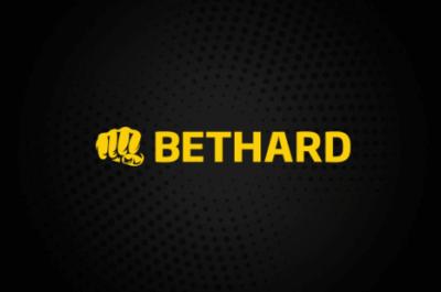 bethard logo on dark background
