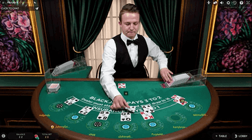 blackjack live table