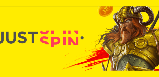 justspin casino banner