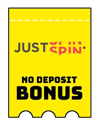 justspin no deposit bonus