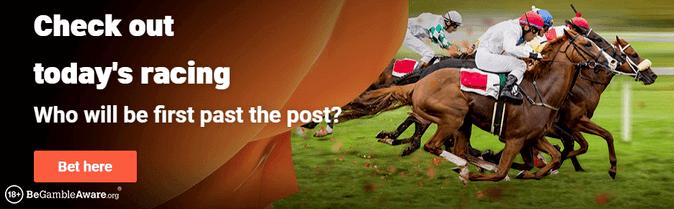 leovegas horse racing banner
