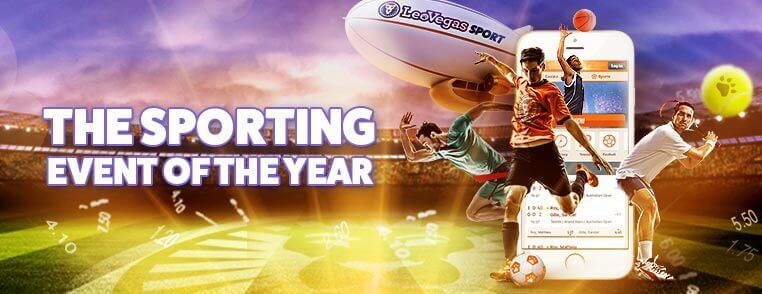 the sporting event of the year at leovegas
