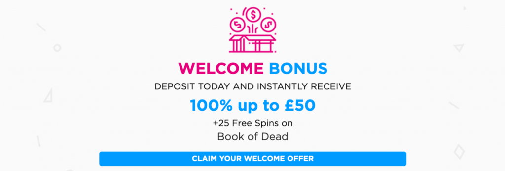 lucky vegas welcome bonus