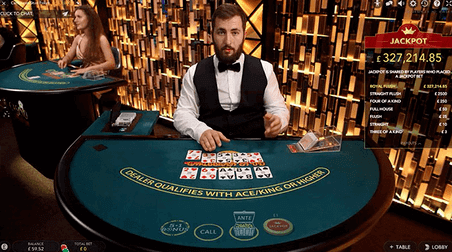 poker live table
