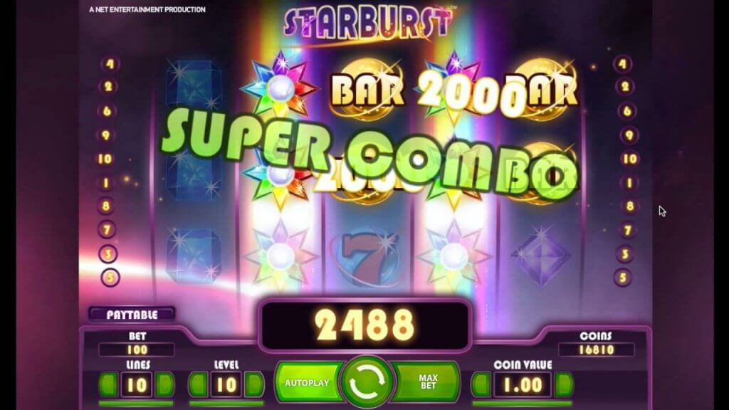 starburst slot game special combo