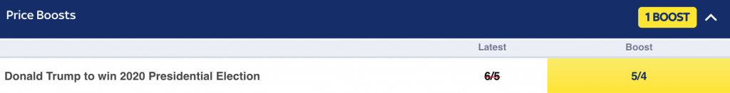 skybet odds boost