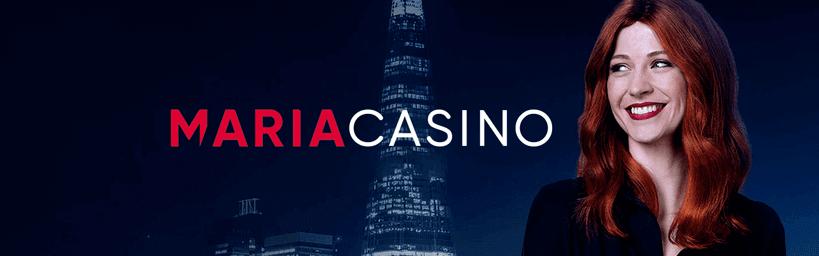maria casino logo banner