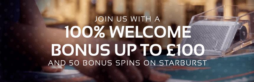 klasino welcome bonus