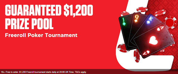 ladbrokes freeroll promotion poker
