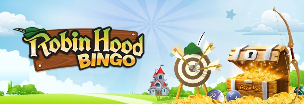 Robin Hood Bingo banner
