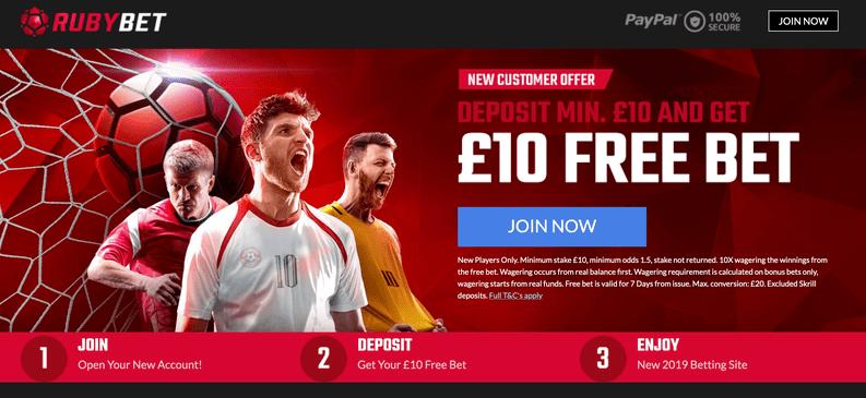 ruby bet welcome bonus