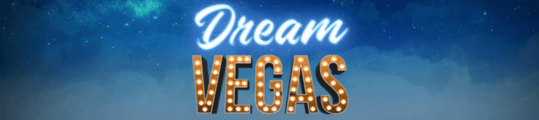 dream vegas casino banner