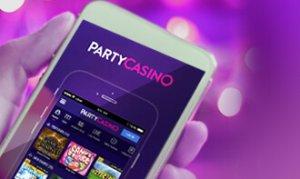 party casino canada version mobile