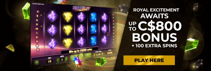 regent casino bonus de bienvenue
